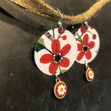 Winter Floral with Bead