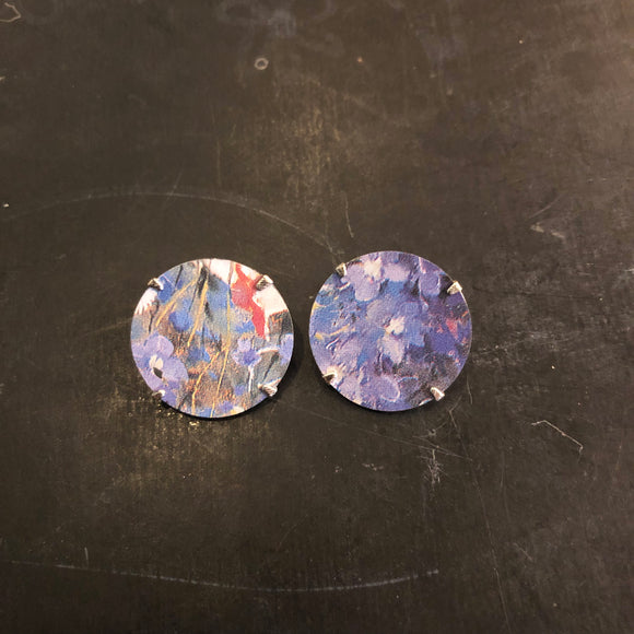 Clip-on Circle Earrings