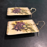 Lily of the Valley Tin Earrings