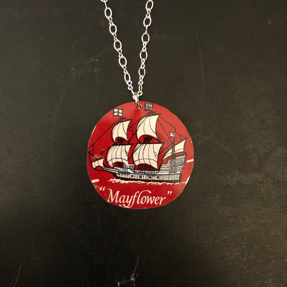 The Mayflower Tin Necklace