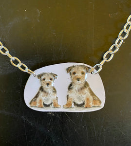 Terriers Tin Necklace
