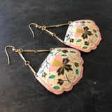 Hand Bag Tin Earrings