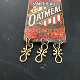 German Mills American Oatmeal Tin Necklace