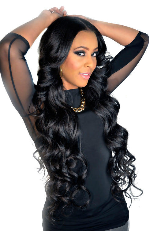Virgin Remy Sew In Weave Extensions