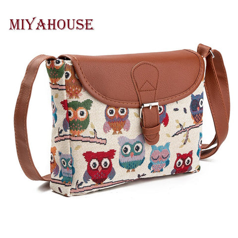 Miyahouse Flap Top Crossbody Bag For Women