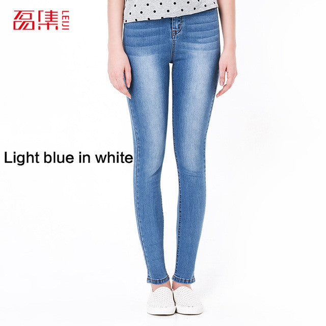 Skinny High Wasited Boyfriend Jeans For Women