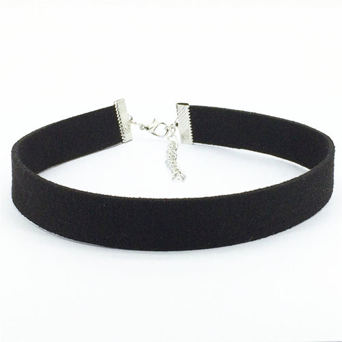 Fashion Black Velvet Choker Collar Necklace Jewelry