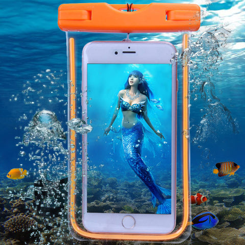 Colorful Waterproof Protective Pouch Bag Against Water For iPhone