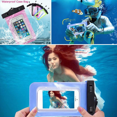 Waterproof Protective Pouch Bag For iPhone