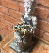 Natural Stone and Lava | Mala Diffuser Necklace