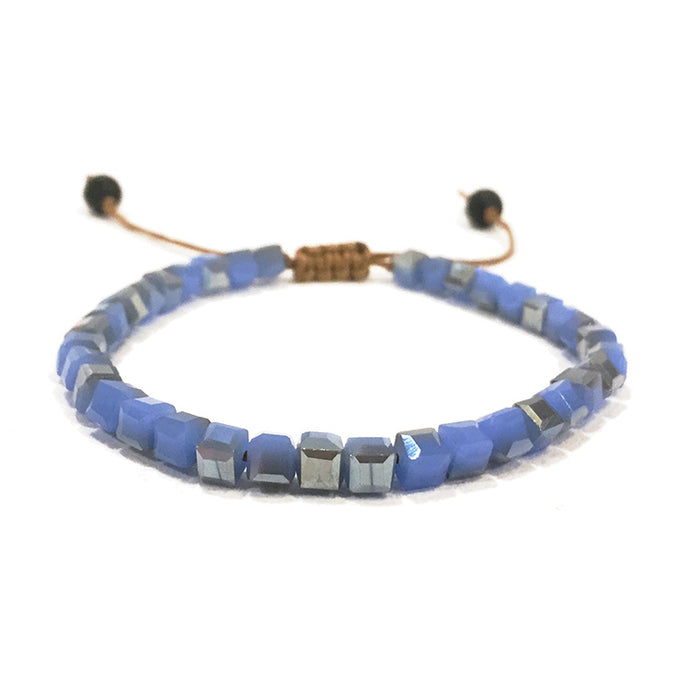 Sky Blue Glass | Diffuser Bracelet