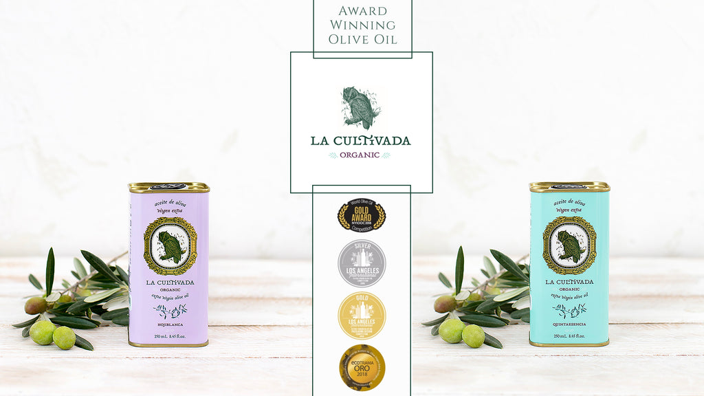 La Cultivada organic Hojiblanca olive oil from Cordoba, Spain won the Best in Class Organic Varietal