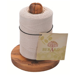Olive Wood Twine Holder by Berard