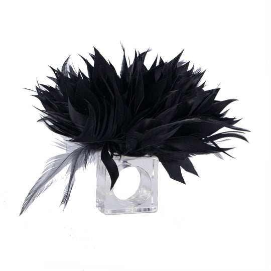 Feathered Napkin Rings by Julian Mejia