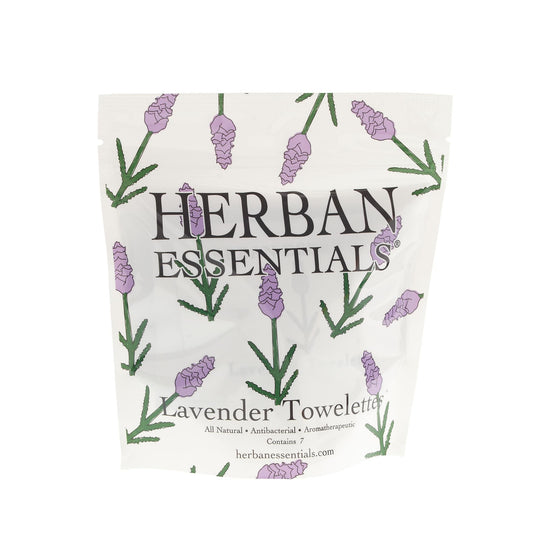 Essential Oil Towelettes by Herban Essentials [Travel Size]