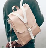 Sacagawea Carryall Backpack - Natural Vegetable Tan by Materials + Process