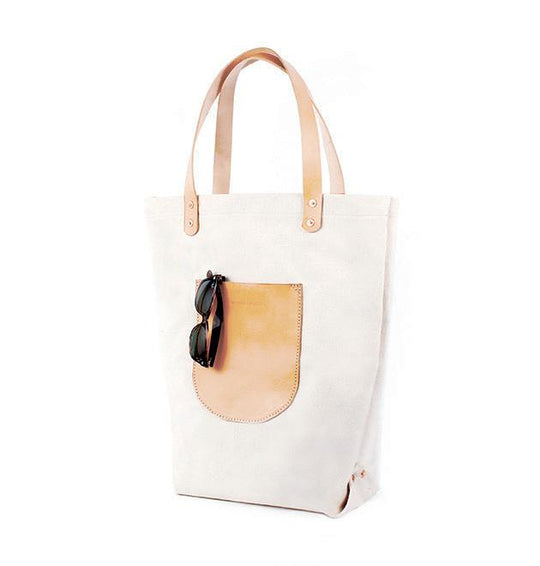 Canvas Market Tote by Materials + Process