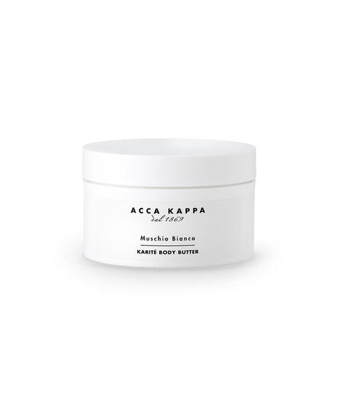 White Moss Karite Body Butter by Acca Kappa