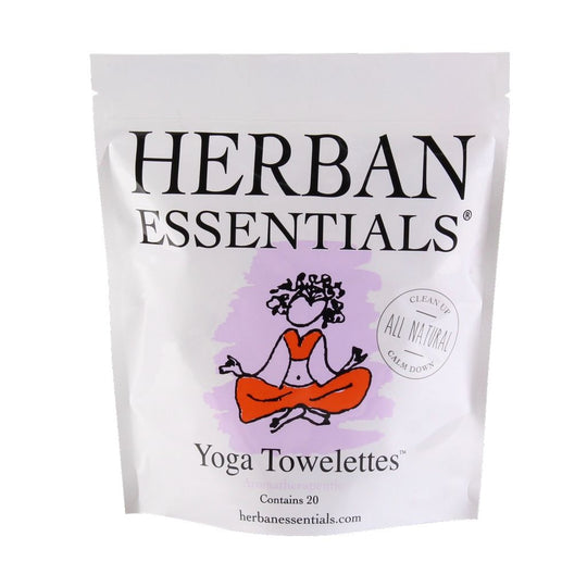 Yoga Towelettes by Herban Essentials