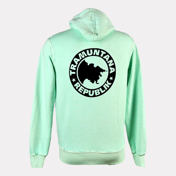 HOODED ZIP KIDS MENTA