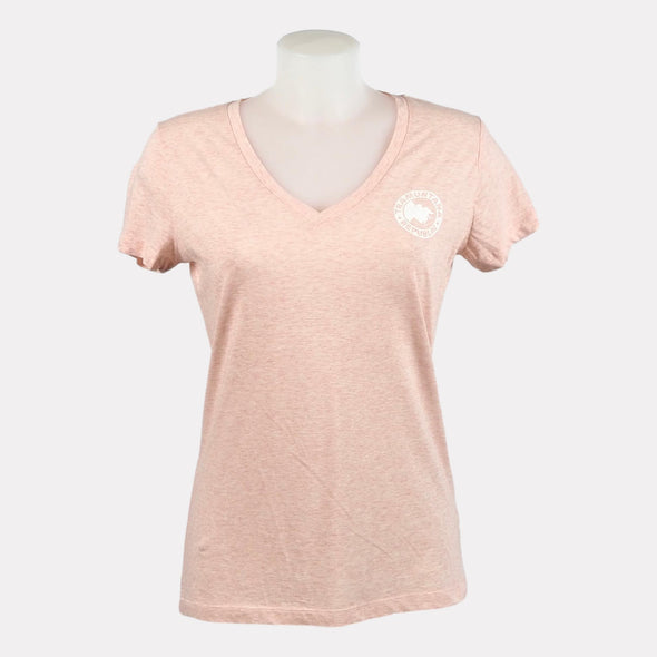 V-NECK GIRL SOSTENIBLE ROSA