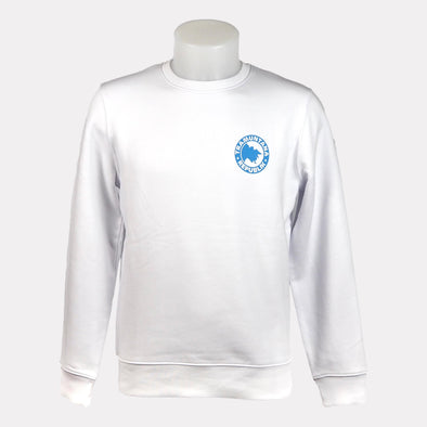 SWEATSHIRT CREWNECK SOSTENIBLE BLANCO