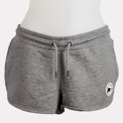 SHORT GIRL SOSTENIBLE GRIS