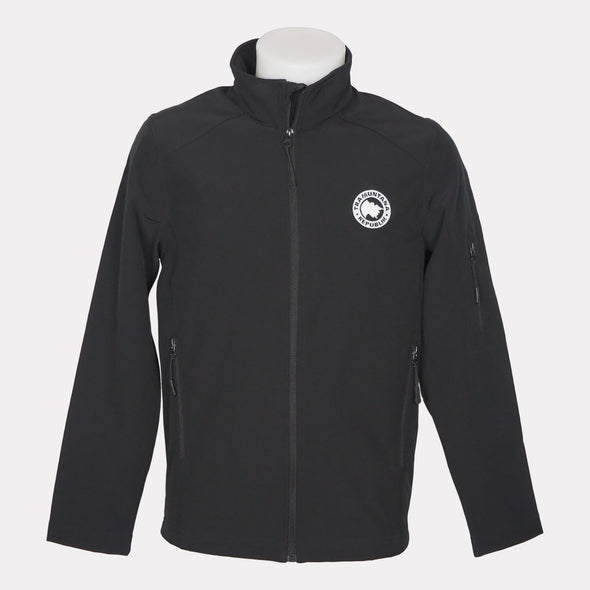 CHAQUETA SOFTSHELL MEN NEGRO