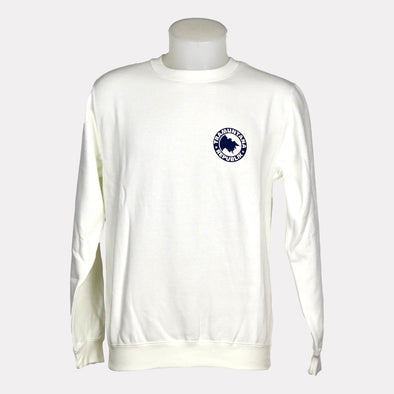 SWEATSHIRT CREWNECK BASIC BLANCO