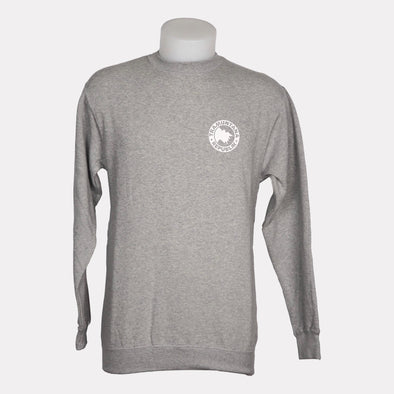 SWEATSHIRT CREWNECK BASIC GRIS
