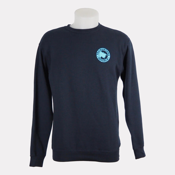 SWEATSHIRT CREWNECK BASIC NAVY