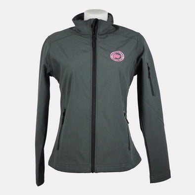 CHAQUETA SOFTSHELL MUJER GRIS OSCURO