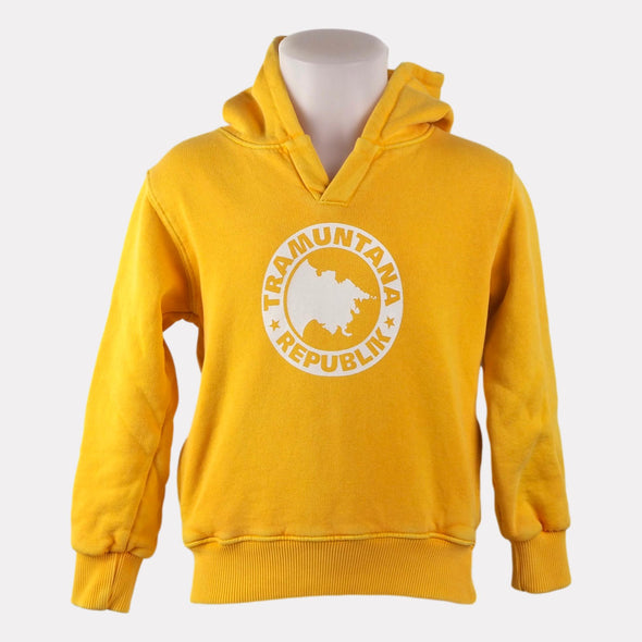 HOODED SWEAT BABY AMARILLO