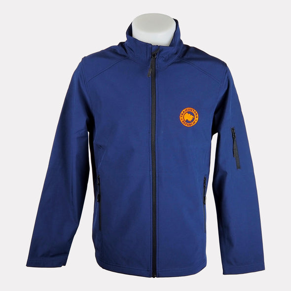 CHAQUETA SOFTSHELL MEN NAVY/NARANJA