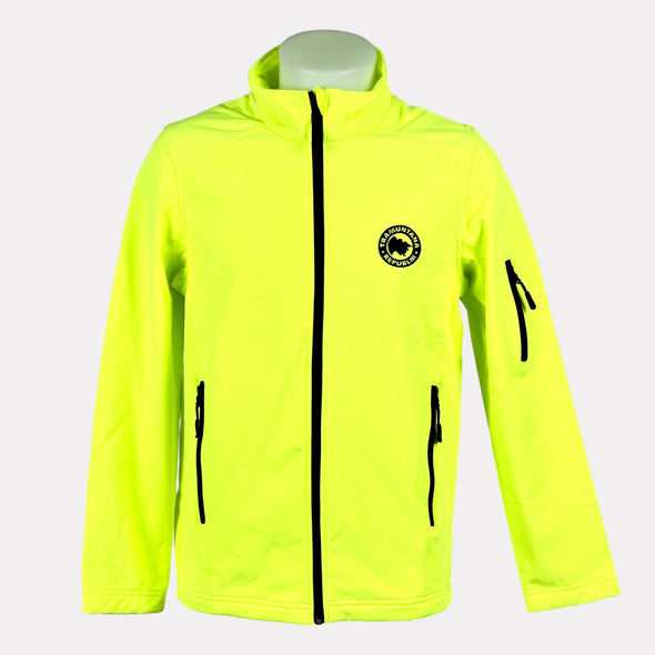 CHAQUETA SOFTSHELL MEN AMARILLO
