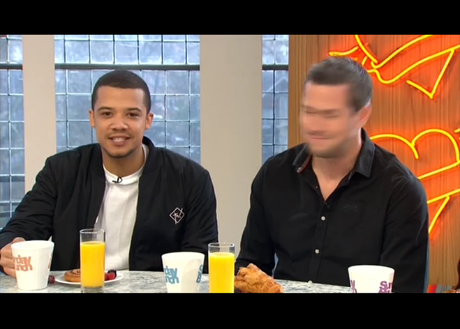 Raleigh Ritchie on Channel 4 Sunday Brunch