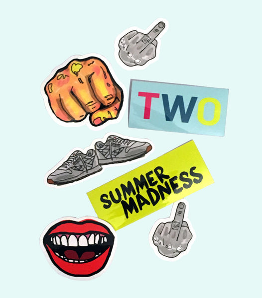 TWO X JAEJUSTJ | SUMMERTIME MADNESS STICKER PACK