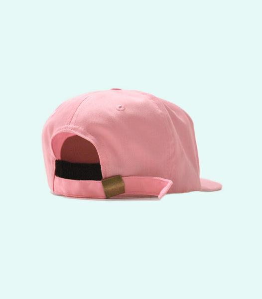 TWO SIGNATURE SNAPBACK HAT | LIGHT PINK