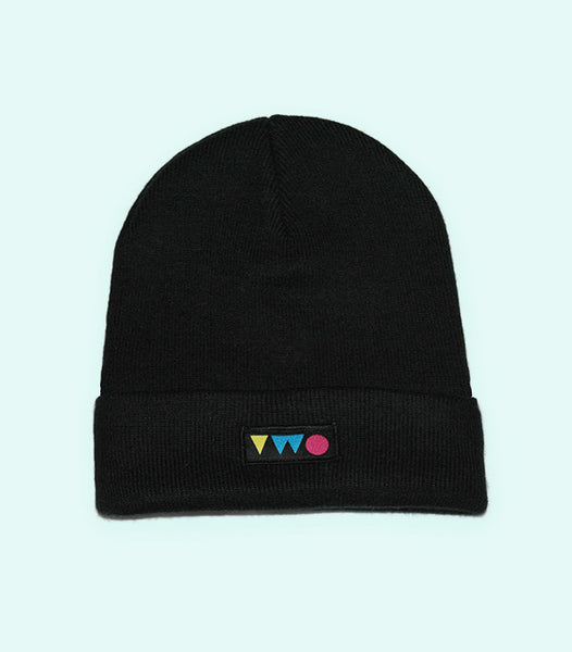 TWO PLAY BEANIE HAT | BLACK