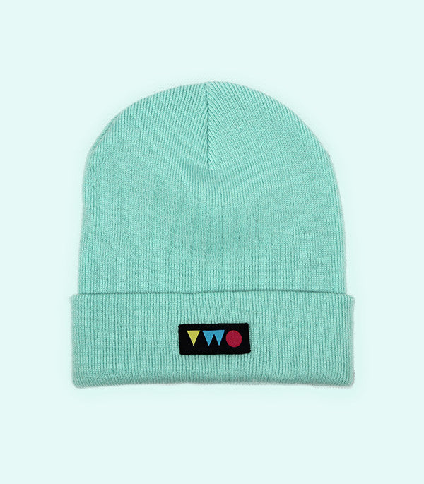 TWO PLAY BEANIE HAT | MINT GREEN