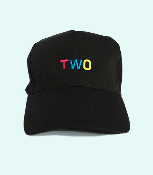 TWO LOW PROFILE DADDY HAT | BLACK