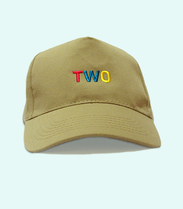 TWO LOW PROFILE DADDY HAT | OLIVE GREEN