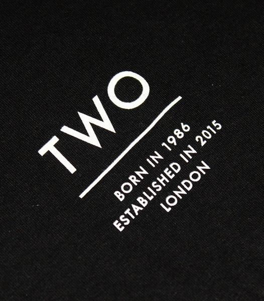 TWO ESTABLISHED TEE | BLACK