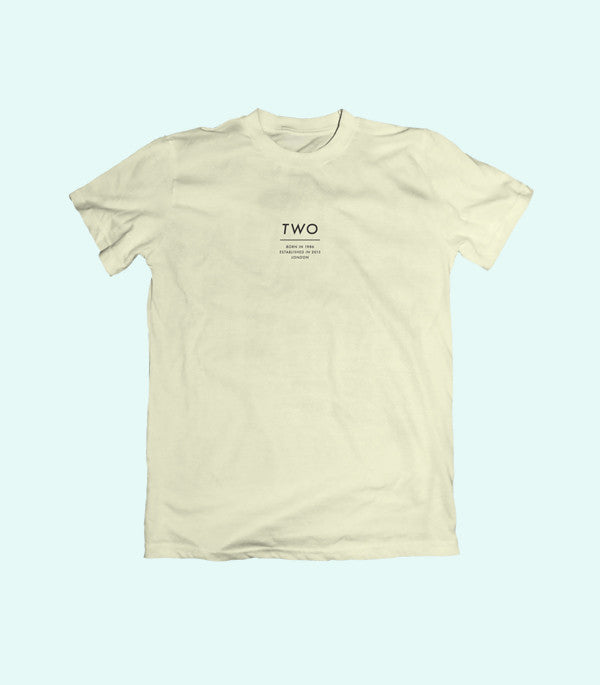 TWO ESTABLISHED TEE | NATURAL