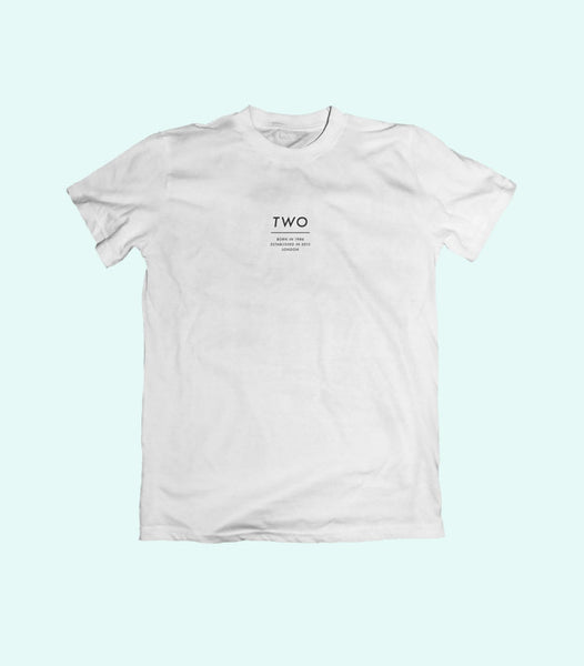 TWO ESTABLISHED TEE | WHITE
