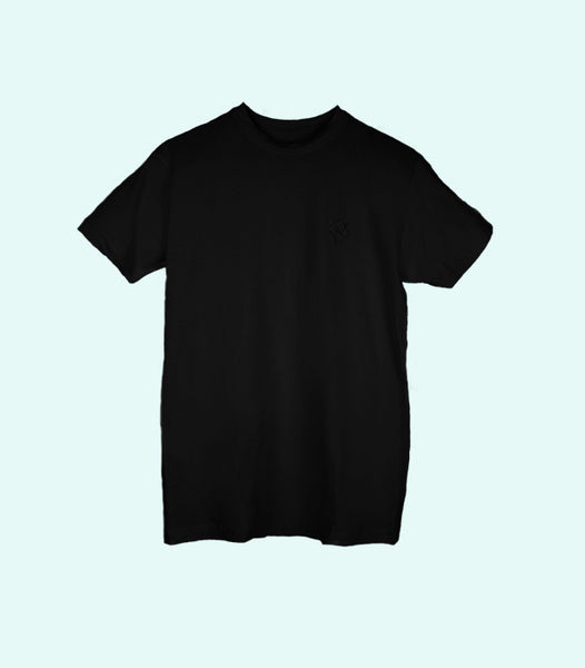 TWO SIGNATURE TEE | BLACK