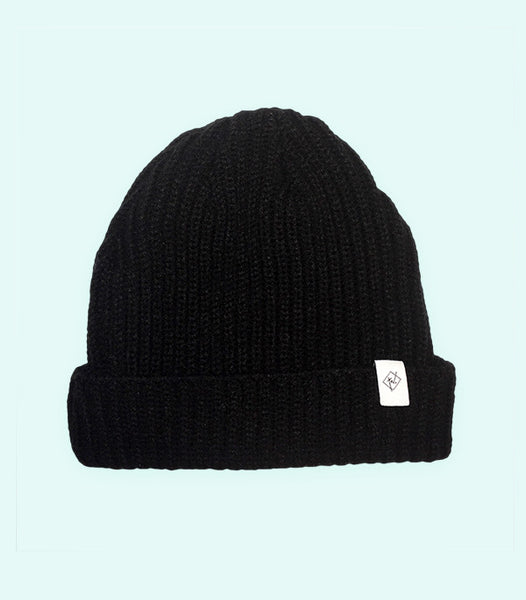 TWO TRAWLER HAT | BLACK