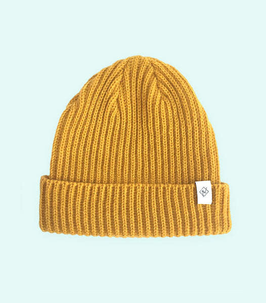 TWO TRAWLER HAT | MUSTARD YELLOW