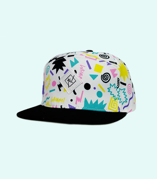 TWO THROWBACK SNAPBACK HAT | MIXED COLOUR