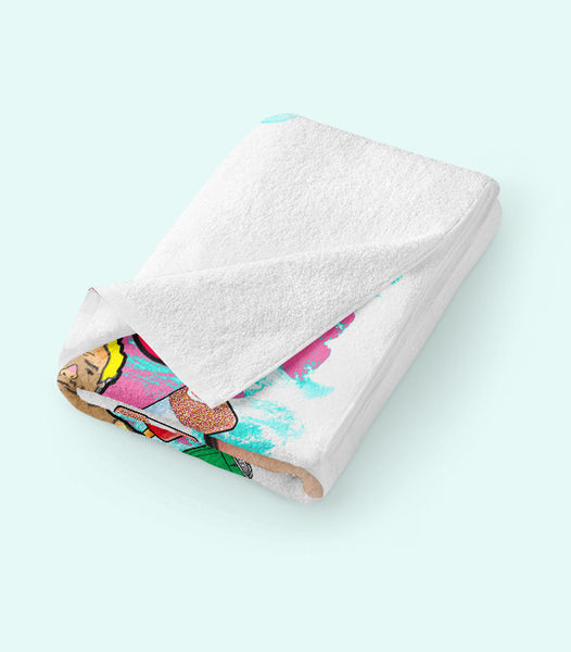 TWO X JAEJUSTJ | SUMMERTIME MADNESS BEACH TOWEL